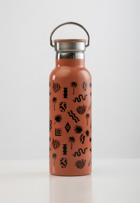 SORA - Rust Stainless Steel Water Bottle 500ml
