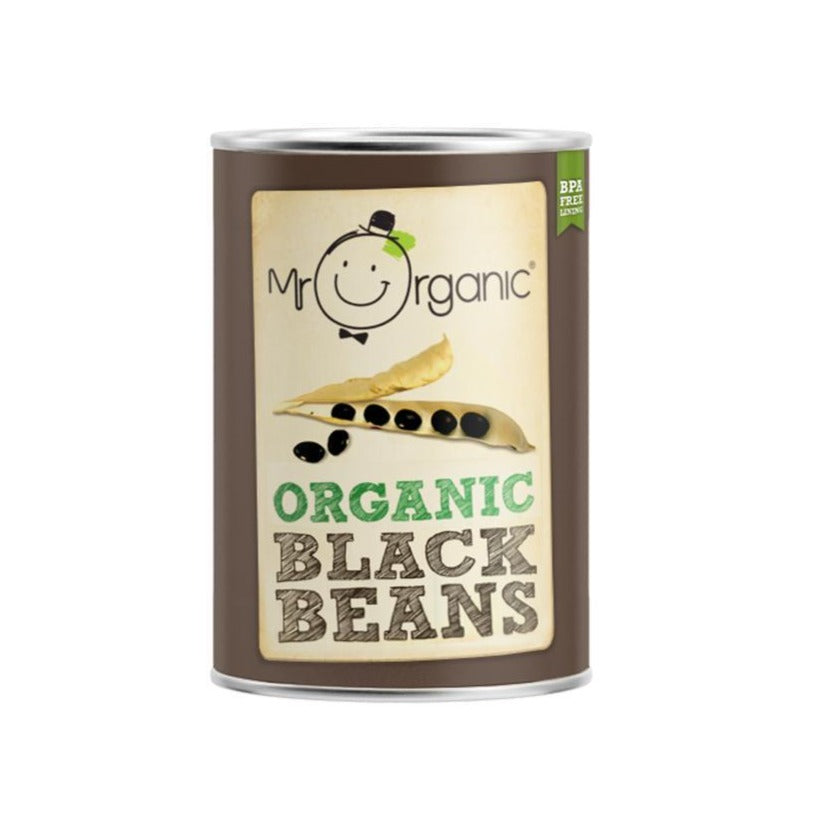 Mr Organic - Organic Vegan Black Beans 400g