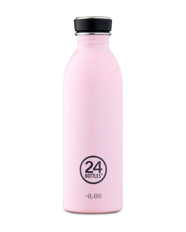 24 Bottles - Urban Bottle 500ML Candy Pink