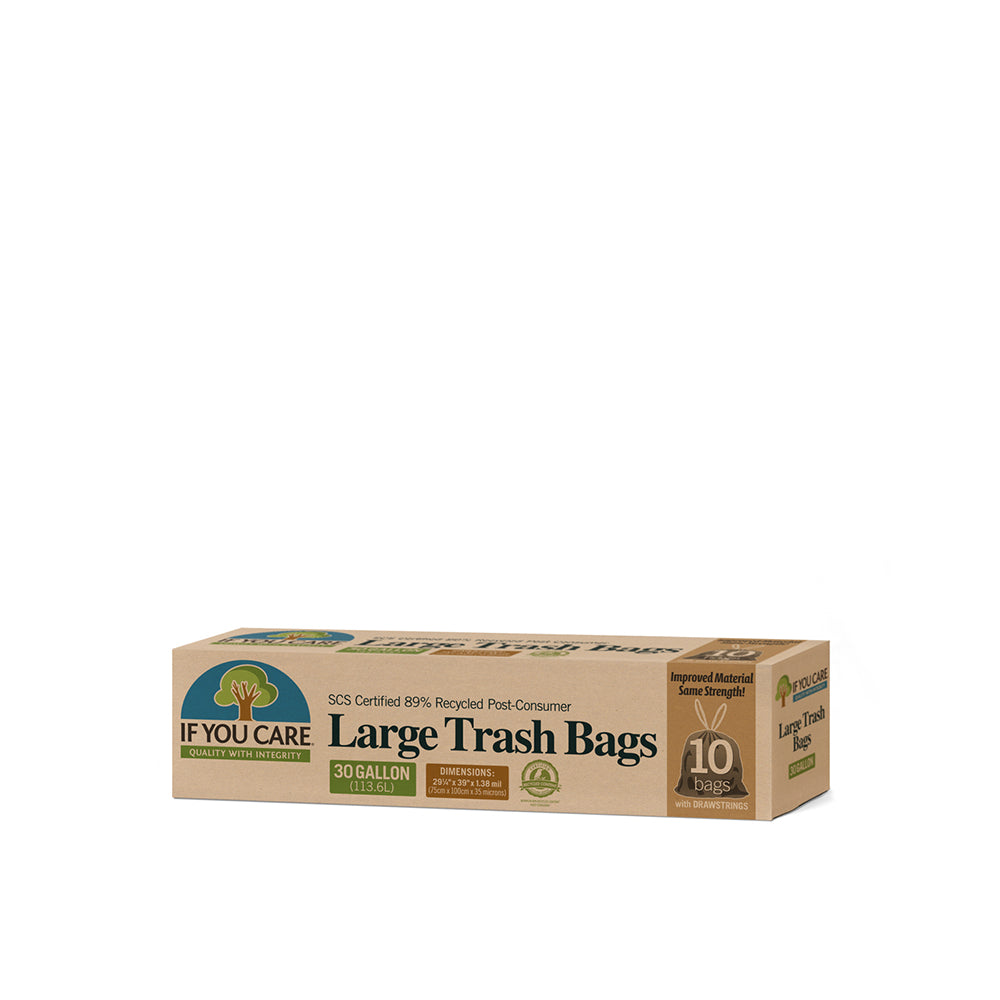 Recycled Polyethylene Plastic Tall Kitchen Bags (13 gal)