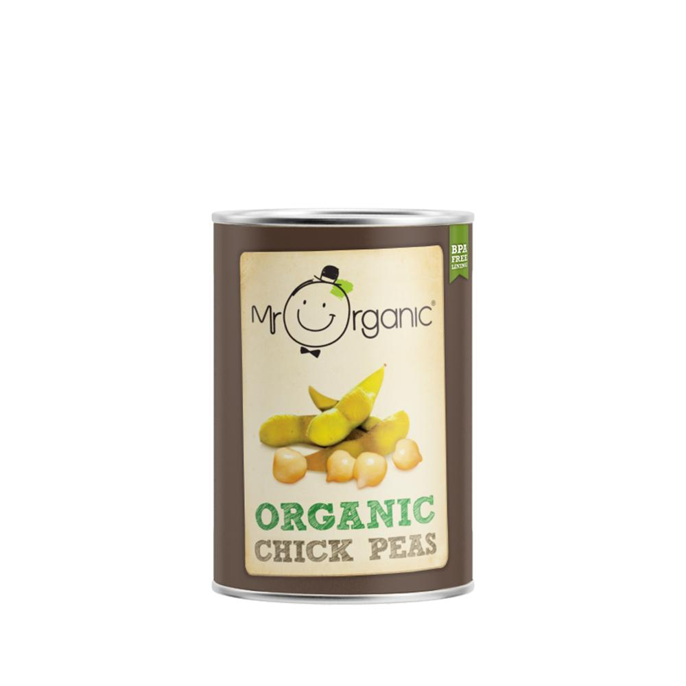 Mr Organic - Organic Vegan Chick Peas 400g