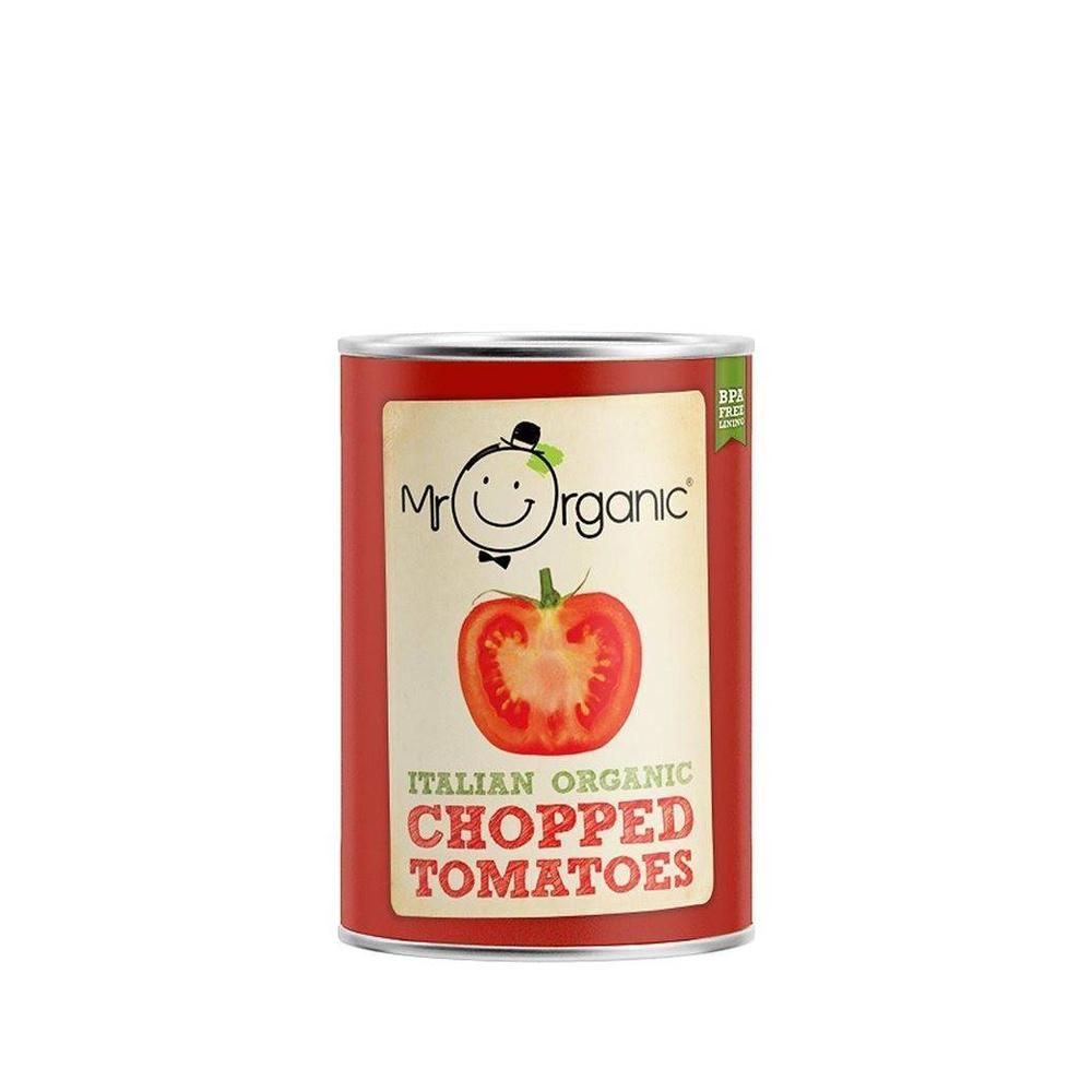 Mr Organic - Organic Vegan Chopped Tomato 400g