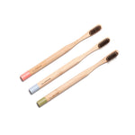 ECO BAMBOO Tooth Brushes - Adult (3pcs)