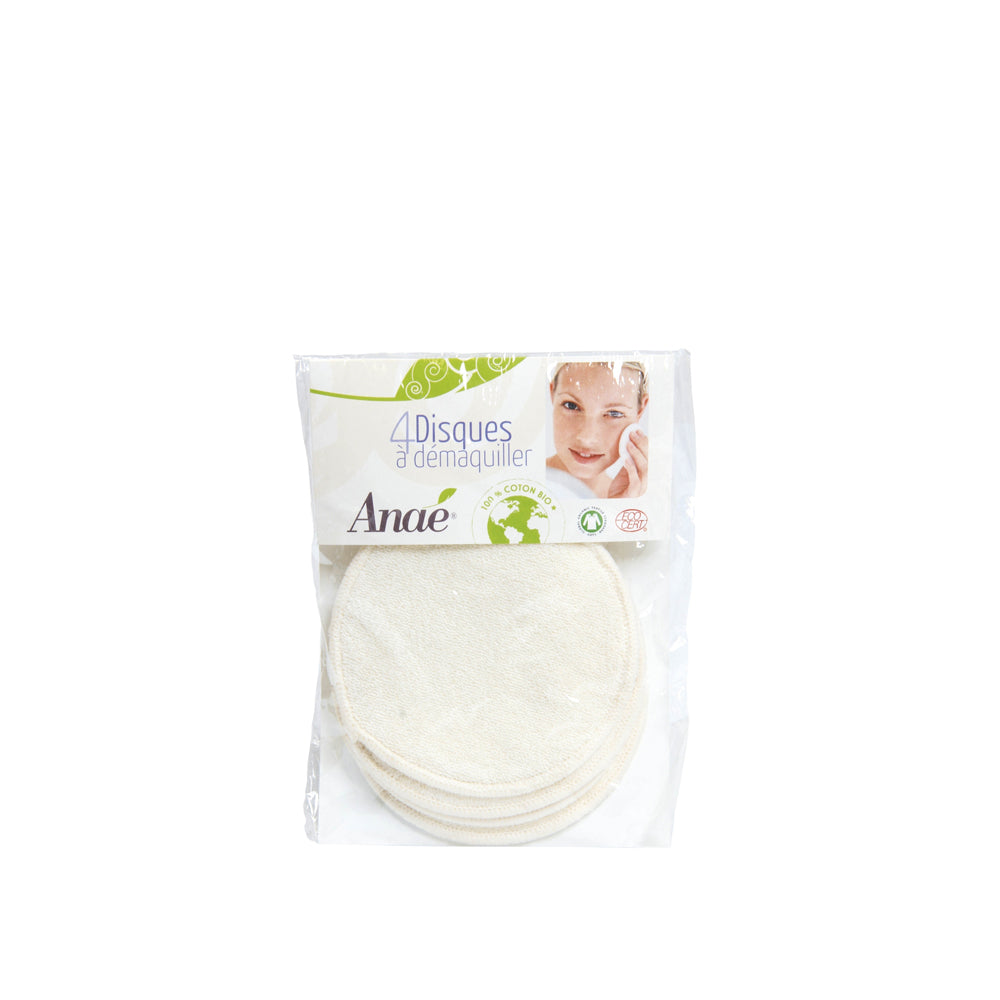 Make-up remover pads (4 Disques EN)