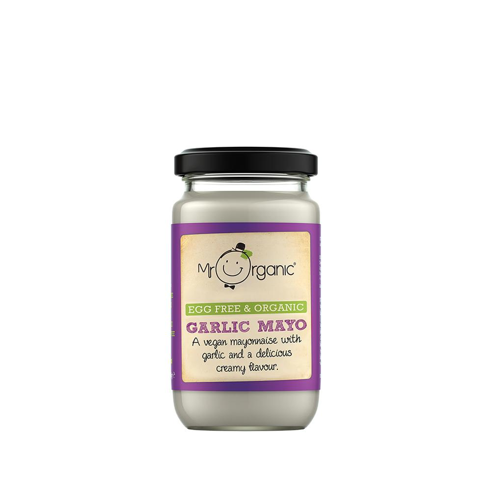 Mr Organic - Organic Vegan Egg Free Garlic Mayo 180g
