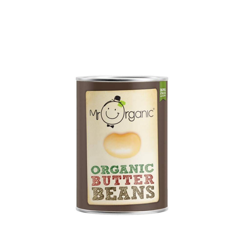 Mr Organic - Organic Vegan Giant Butter Beans 400g