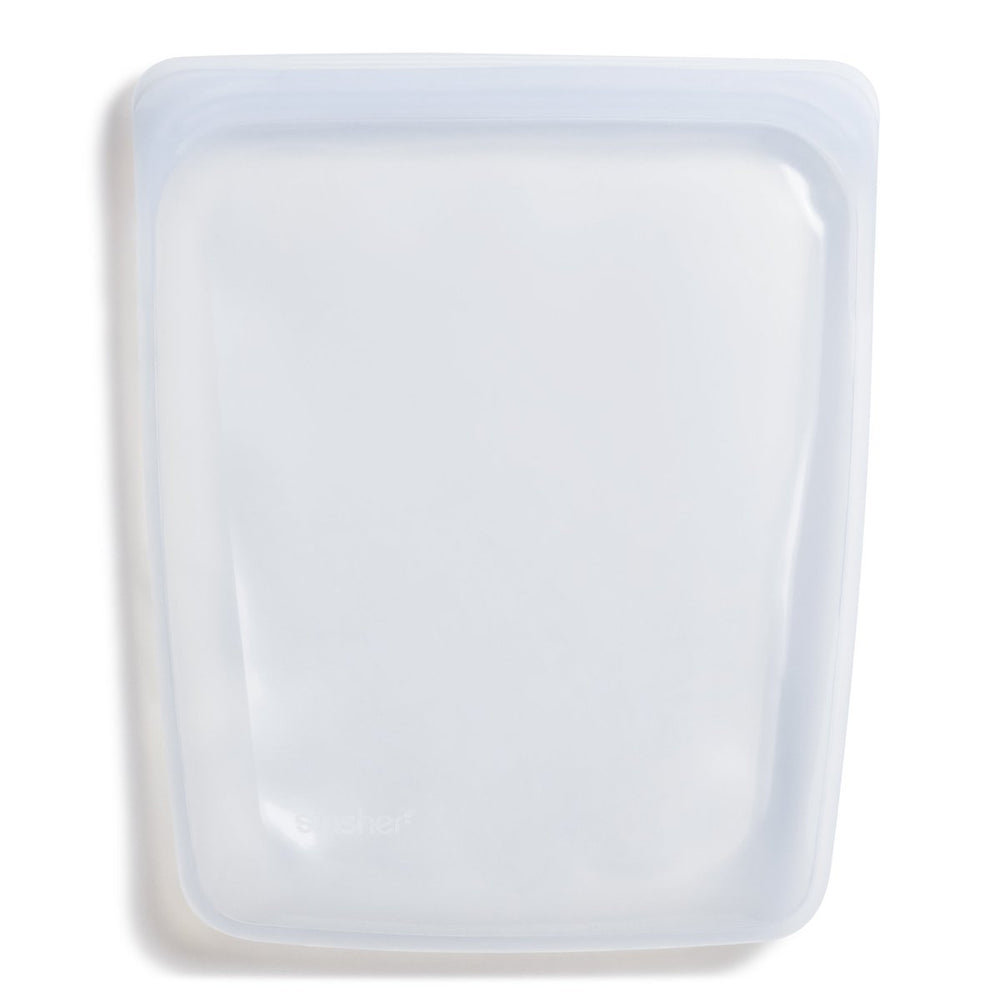 Reusable Silicone Half Gallon Bag (Clear)