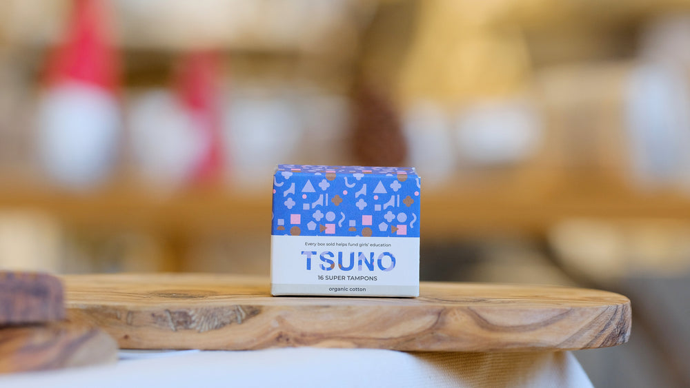 Tsuno Super Organic Cotton Tampons