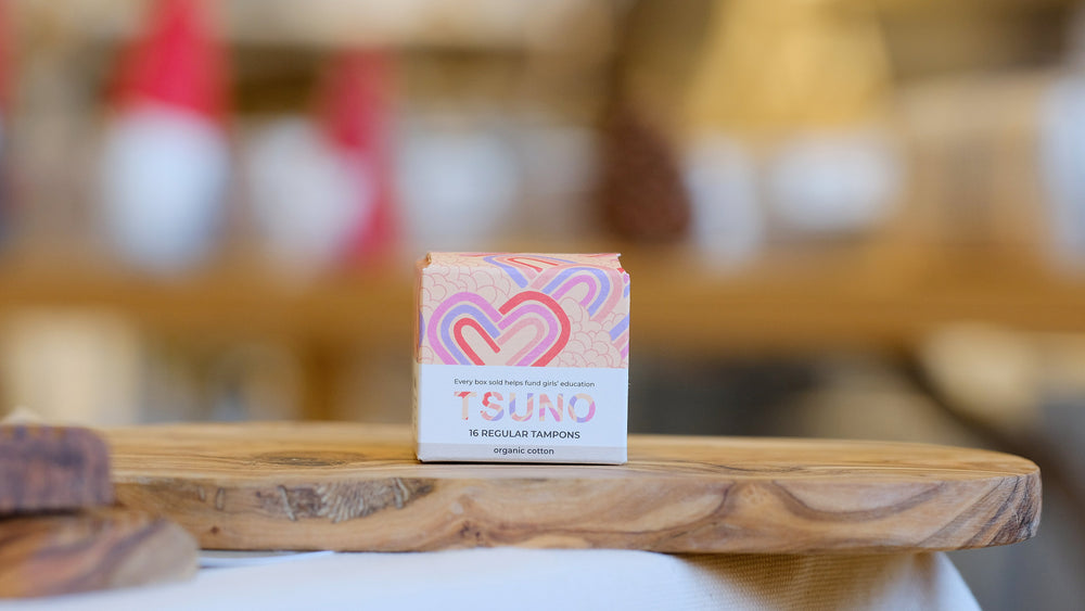 Tsuno Regular Organic Cotton Tampons