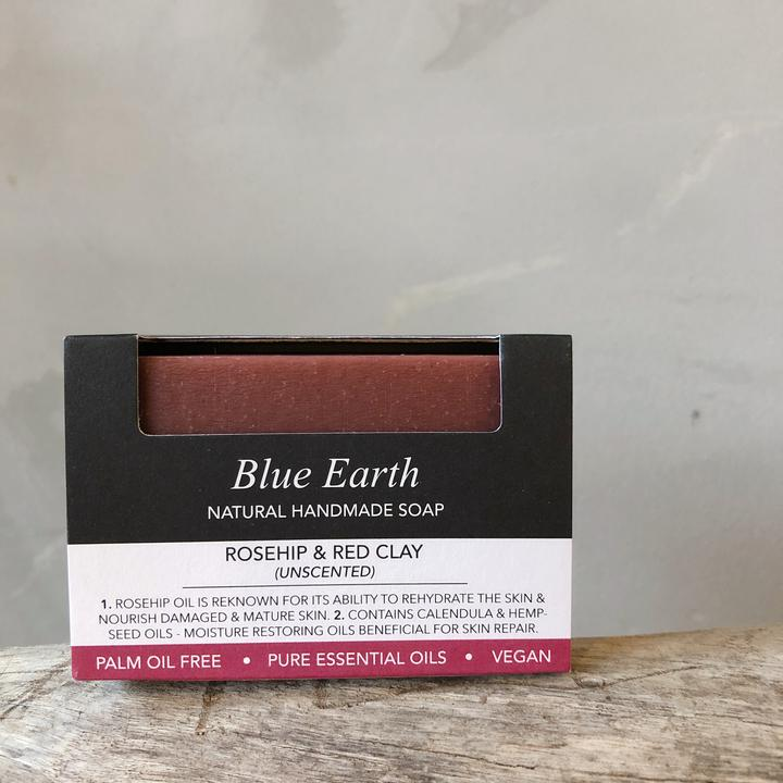 Blue Earth - Rosehip & Red Clay (Single Bar)