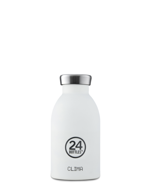 24 Bottles - Clima Bottle 330ML White