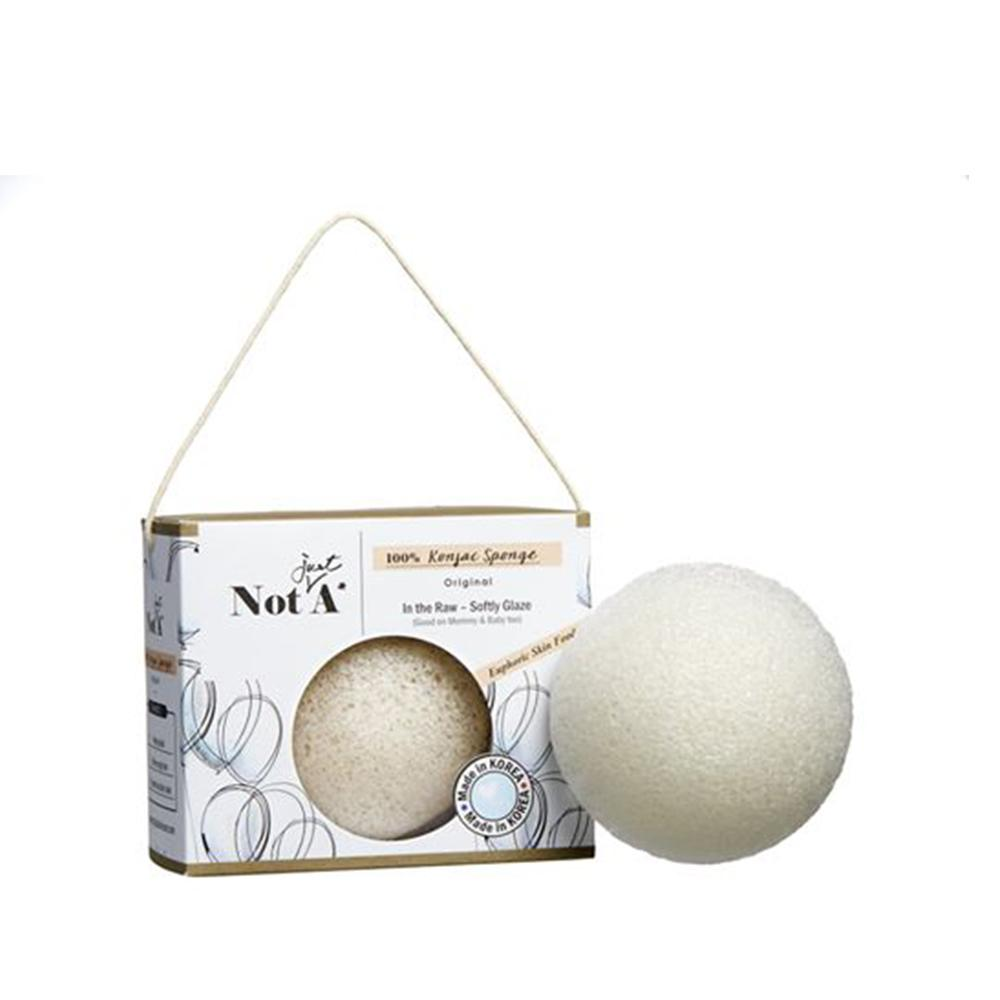 Not Just A - In the Raw - Konjac Face Sponge