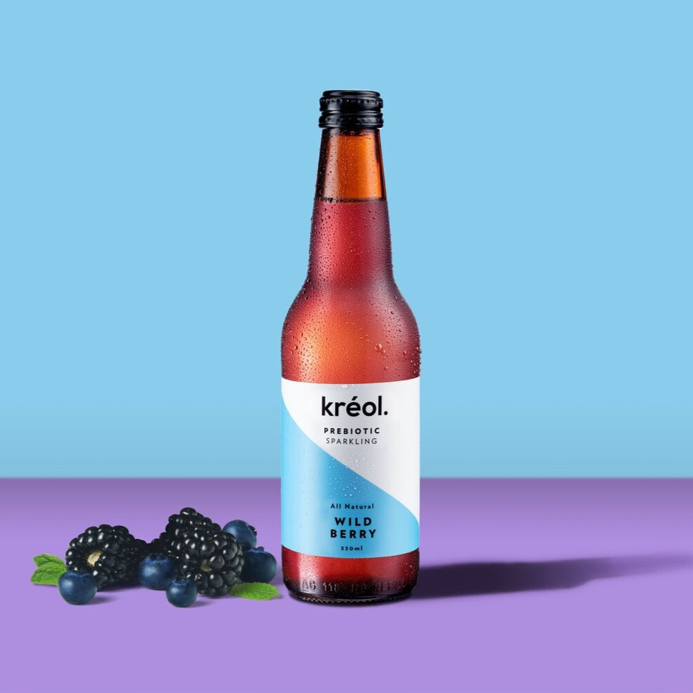 Kreol - Prebiotic Sparkling Drink - Wild Berry