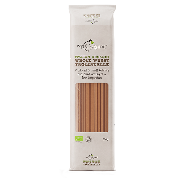 Mr Organic - Organic Vegan Whole Wheat Tagliatelle 500g