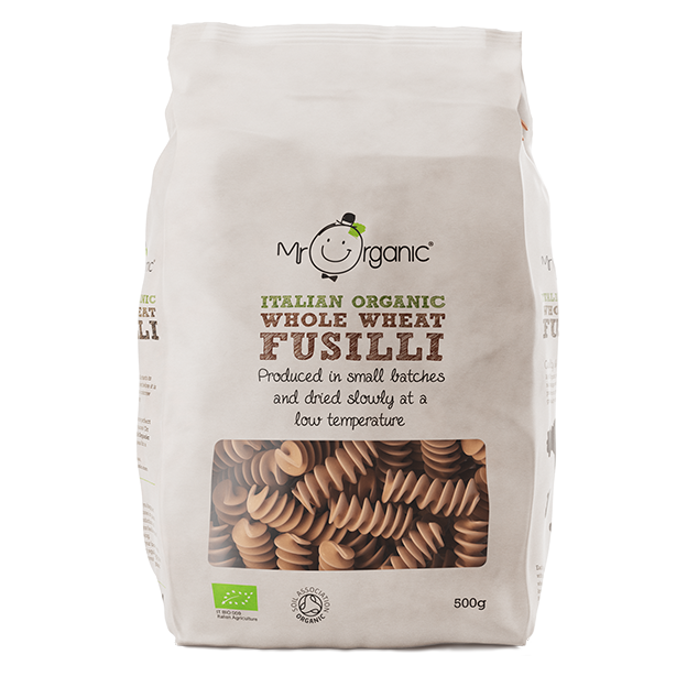 Whole Wheat Fusilli 500g