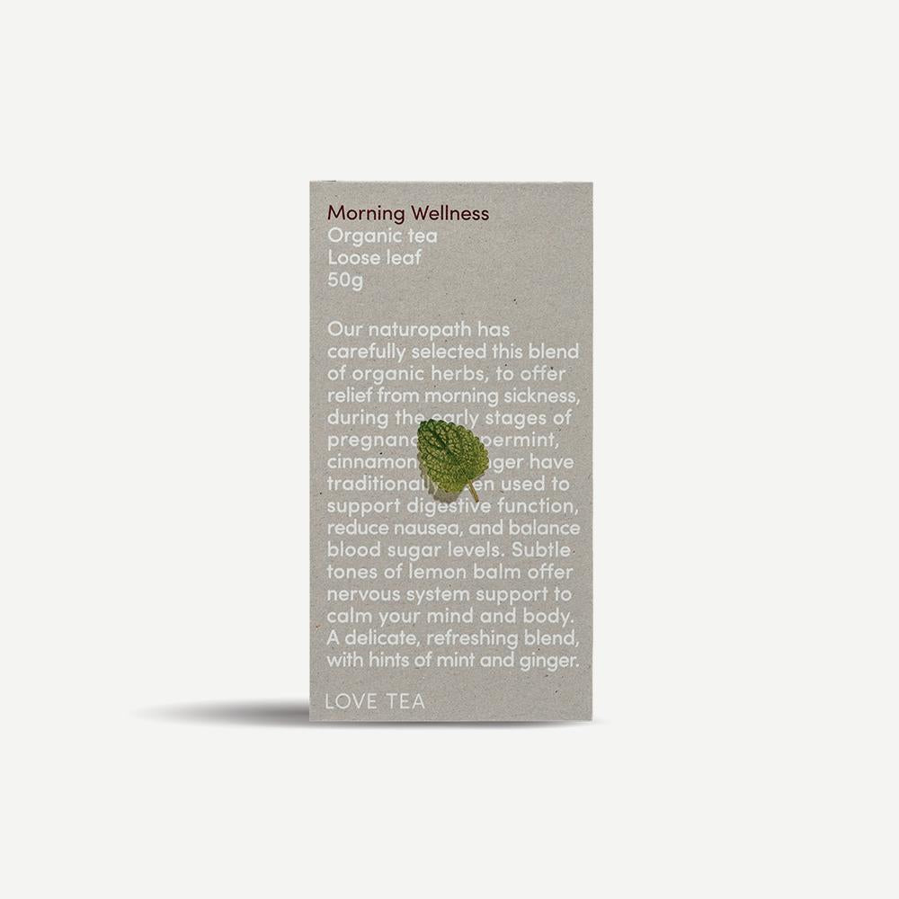 Love Tea - Morning Wellness Loose Leaf Box 50g