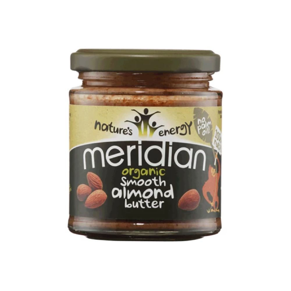 Organic Smooth Almond Butter 100%