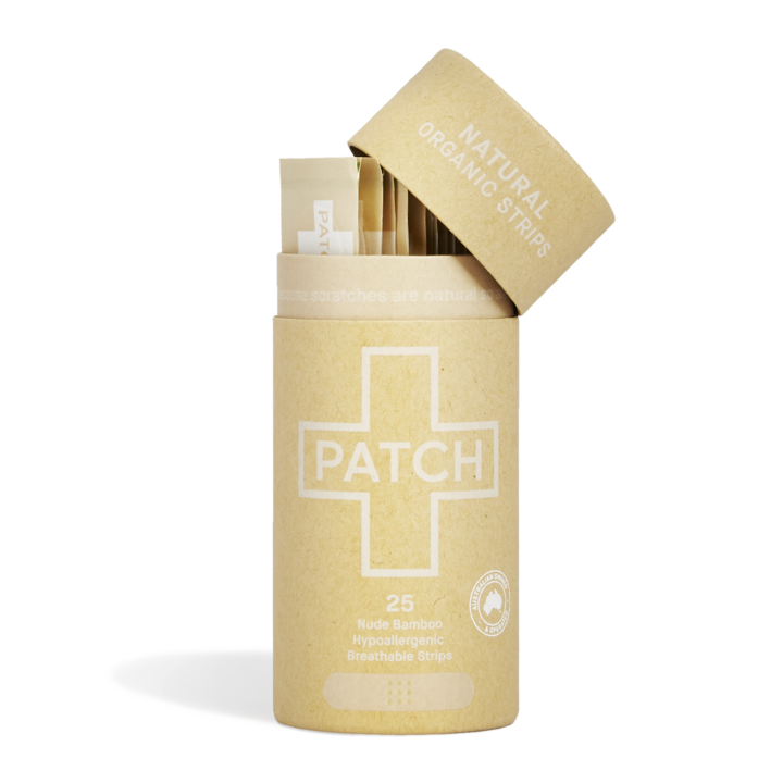 Patch Natural Adhesive Strips - Tube Of 25