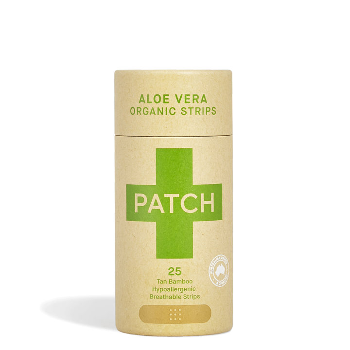 Patch - Aloe Vera Adhesive Strips - Tube Of 25