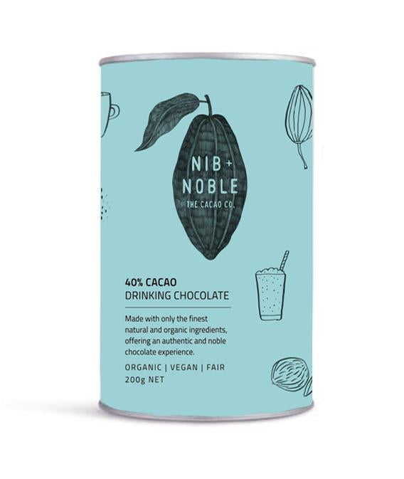 Nib and Noble - 40% Cacao Organic Drinking Chocolate