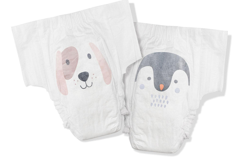 Biodegradable Nappies Size 6 (Dog & Penguin)