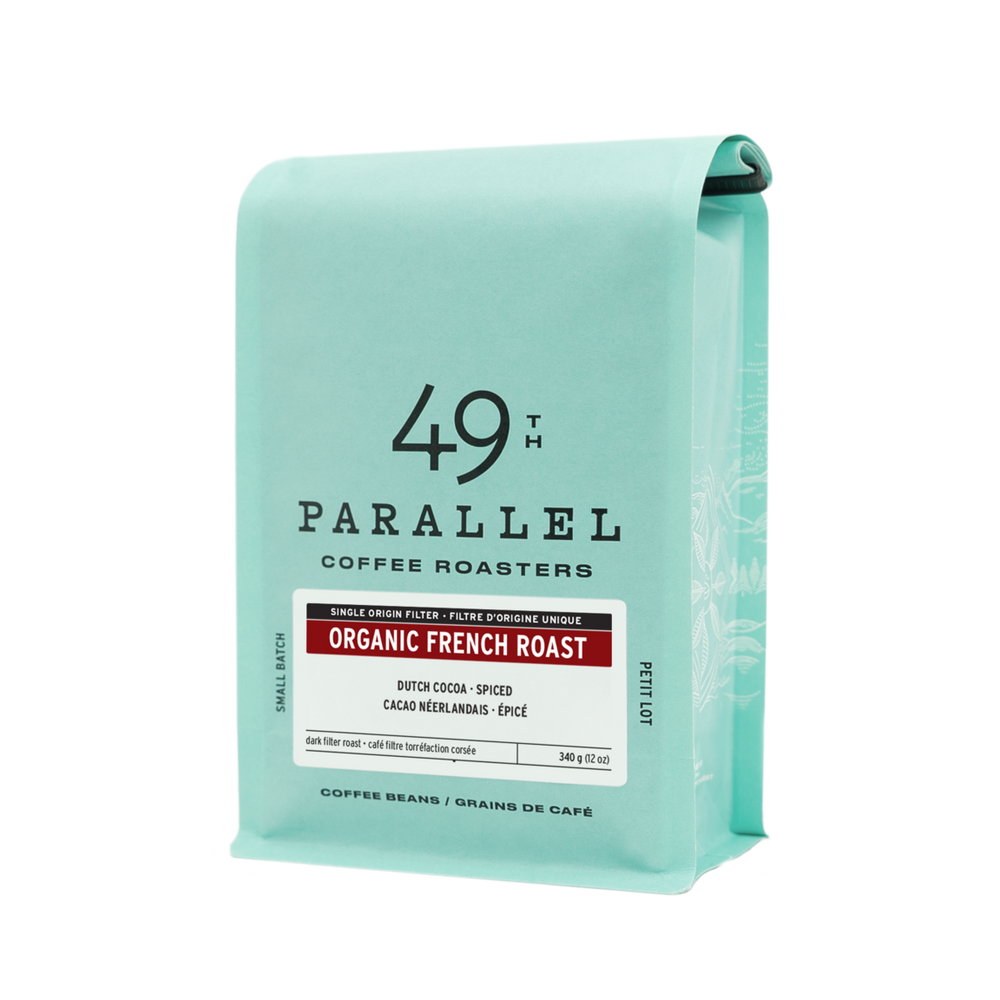 49th Parallel - Direct Trade Coffee - Organic French Roast