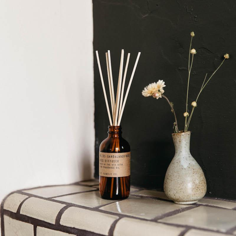 P.F. Candle - Sandalwood Rose Reed Diffuser