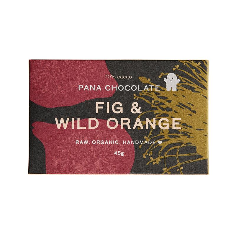 Organic Vegan Chocolate Bar - Fig & Wild Orange