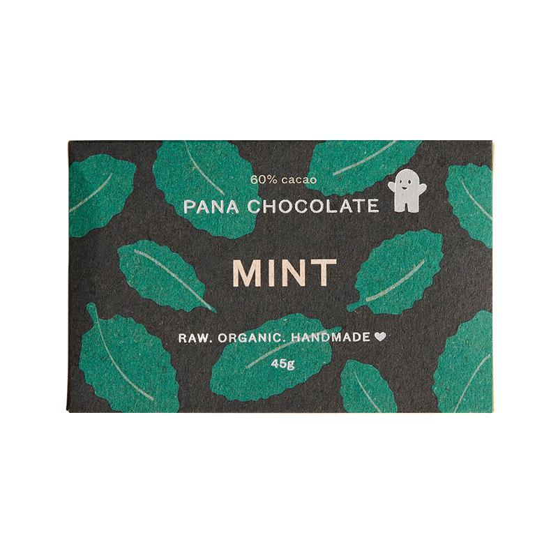 Organic Vegan Chocolate Bar - Mint