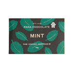 Pana Chocolate - Organic Vegan Chocolate Bar - Mint