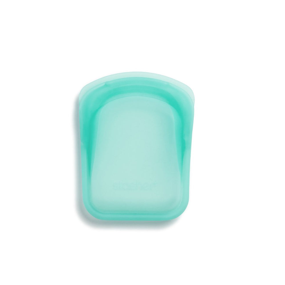 Reusable Silicone Pocket Bags (Clear + Aqua)