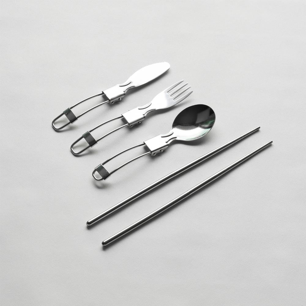 Portable Stainless Steel Cutlery Set