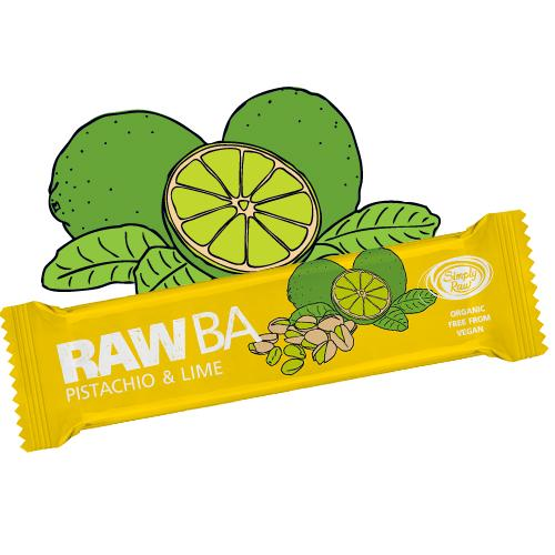 Raw Bar Pistachio & Lime - Vegan Gluten Free