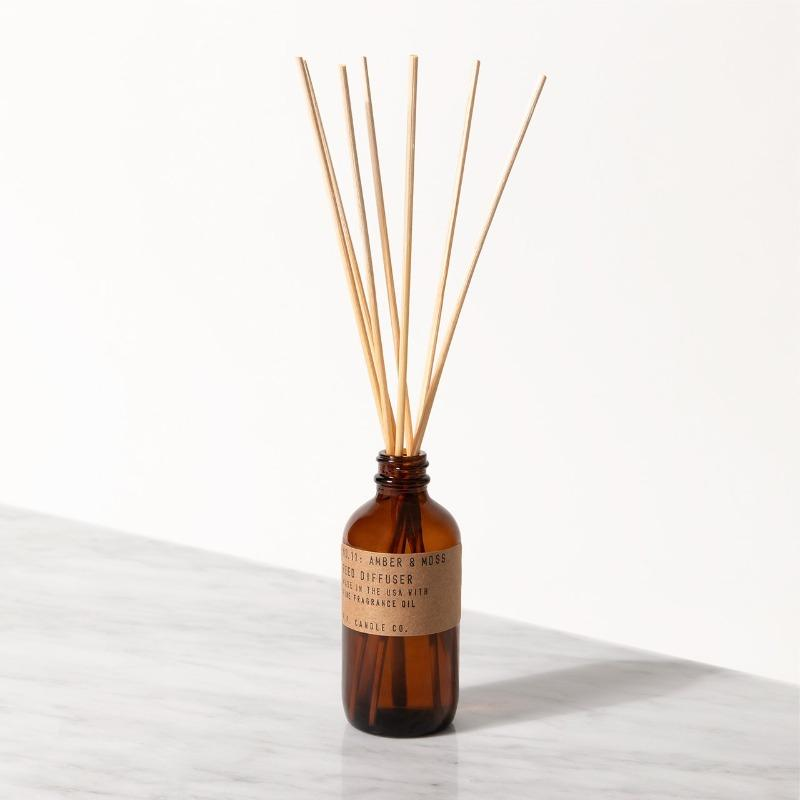 P.F. Candle - Amber & Moss Reed Diffuser