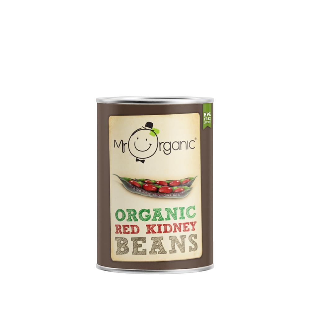 Mr Organic - Organic Vegan Red Kidney Beans 400g