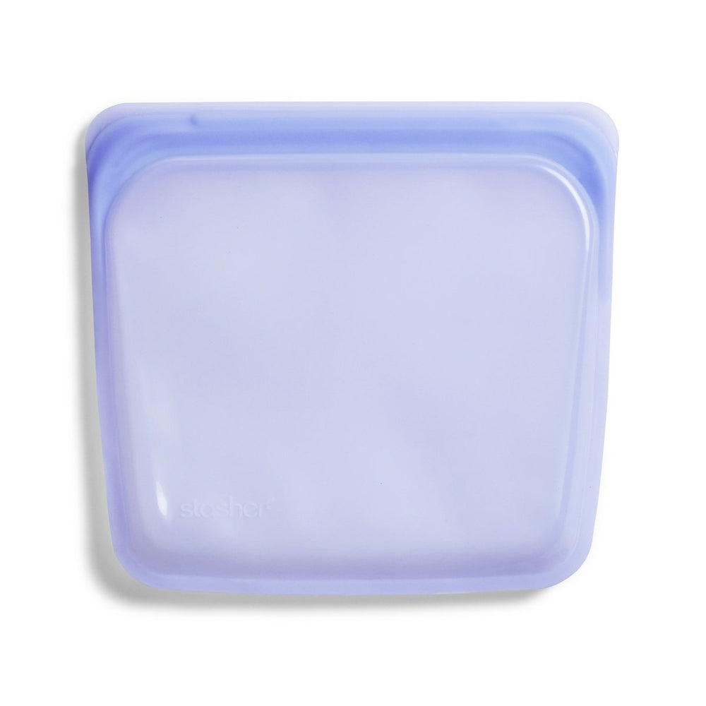 Reusable Silicone Sandwich Bag (Amethyst)
