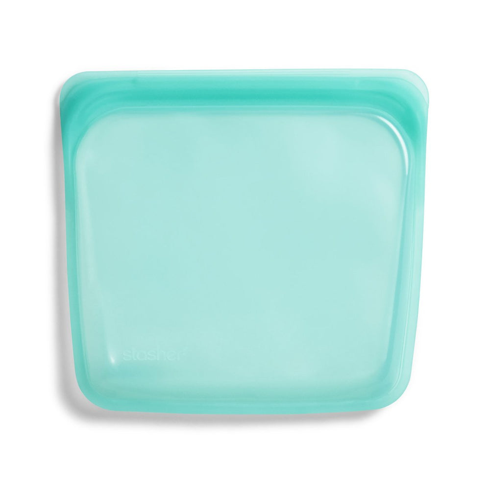 Reusable Silicone Sandwich Bag (Aqua)