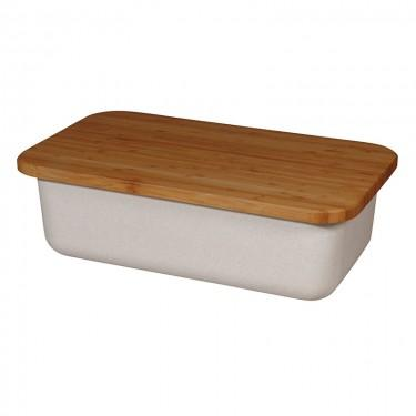 Zuperzozial - Save My Bread - bin+cuttingboard White