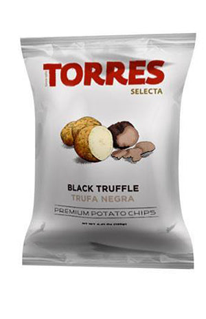 Torres - Selecta Potato Chips - Black Truffle 125g
