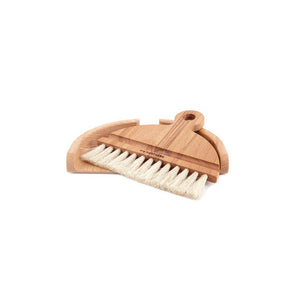 Set Of Table Brush (Beech, Horse hair)