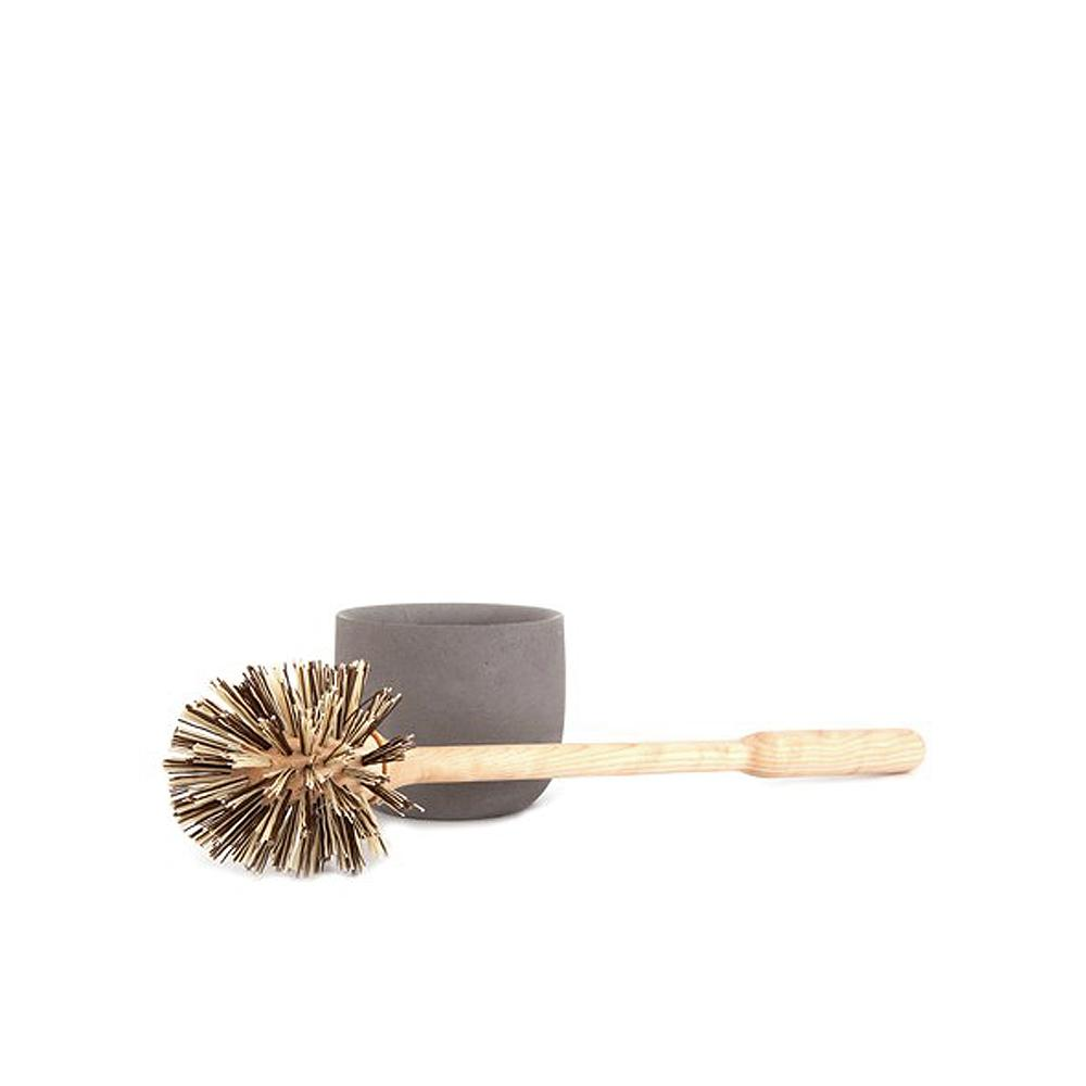 Toilet Brush Grey Cup