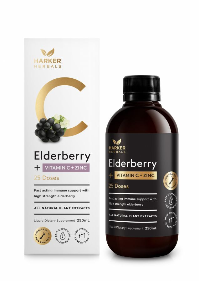 Vitamin C + Elderberry 250ml