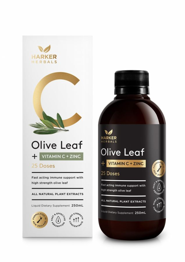 Vitamin C + Olive Leaf 250ml