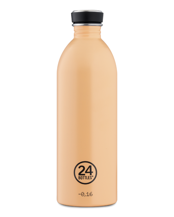 24 Bottles - Urban bottle 1L Peach Orange