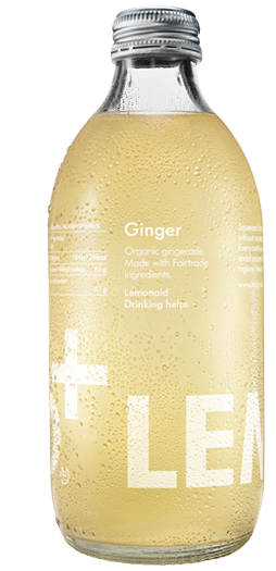 Lemonaid - Organic Fair Trade Ginger Soft Drink 330ml