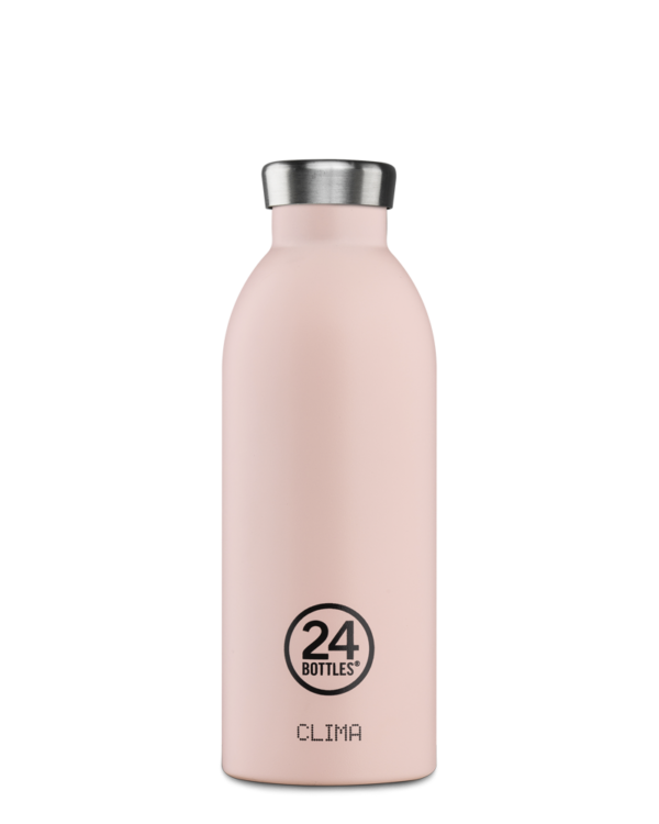Clima Bottle 500ML Dusty Pink
