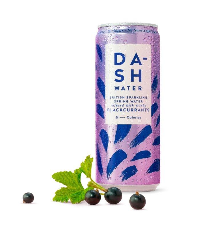 Dash Water - Sparkling Blackcurrant 330ml