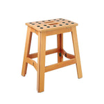 Foldable stool XL - JAMES WOOD