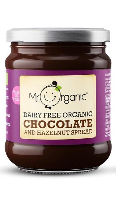 Organic Vegan Chocolate and Hazelnut Spread 200g