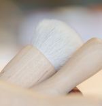 Iris Hantverk - Make Up Brush Kabuki (Birch, Goat hair)